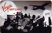 Virgin Gift Card £10