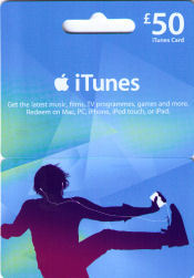iTunes Gift Cards | Buy from Charity Gift Vouchers with free ...