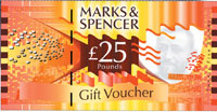 marks spencer gift vouchers the marks spencer gift. Black Bedroom Furniture Sets. Home Design Ideas